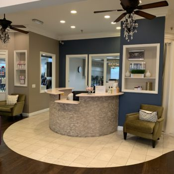 Entrance to The Salon at Lakeside in Desert Shores Summerlin area of Las Vegas
