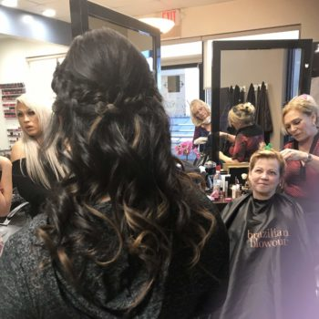 Bridal Party Image at The Salon at Lakeside