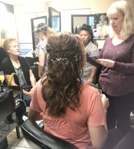 Bridal Party Hair Styling at The Salon at Lakeside In Summerlin Las Vegas