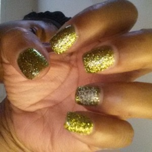 Golden Nails by The Salon at Lakeside