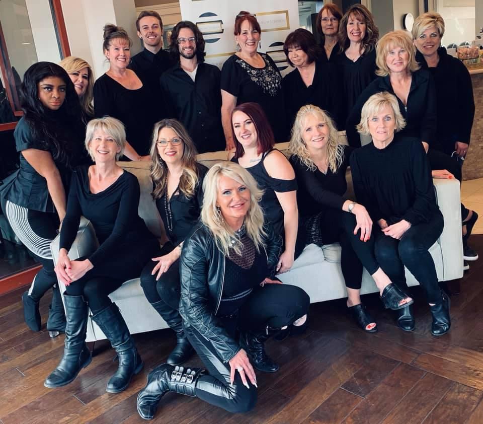 The Salon Team at The Salon at Lakeside in Lakeside Event Center at Desert Shores Summerlin