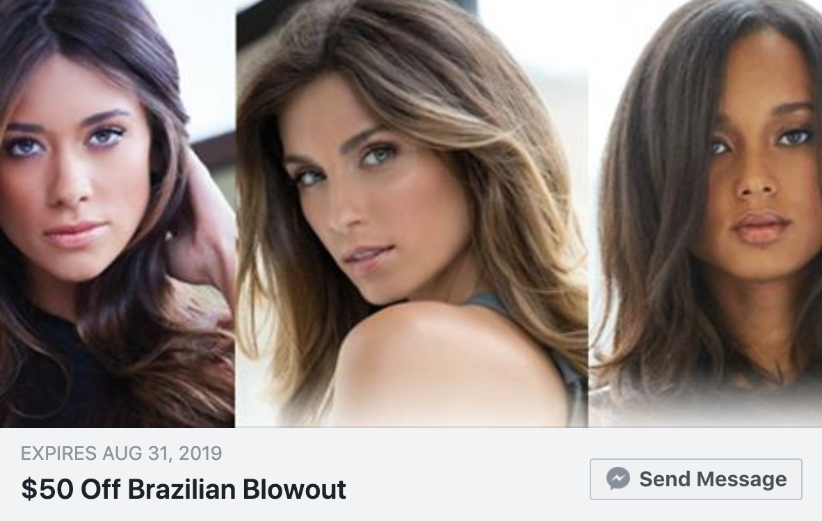 Brazilian Blowout Special Image