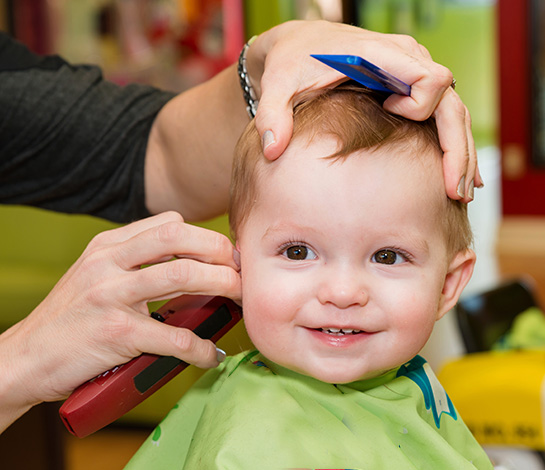 Baby's First Haircut - The Salon at Lakeside Near Downtown Vegas