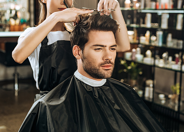Men's Haircut and Style - Las Vegas Salon in Desert Shores Community of Summerlin