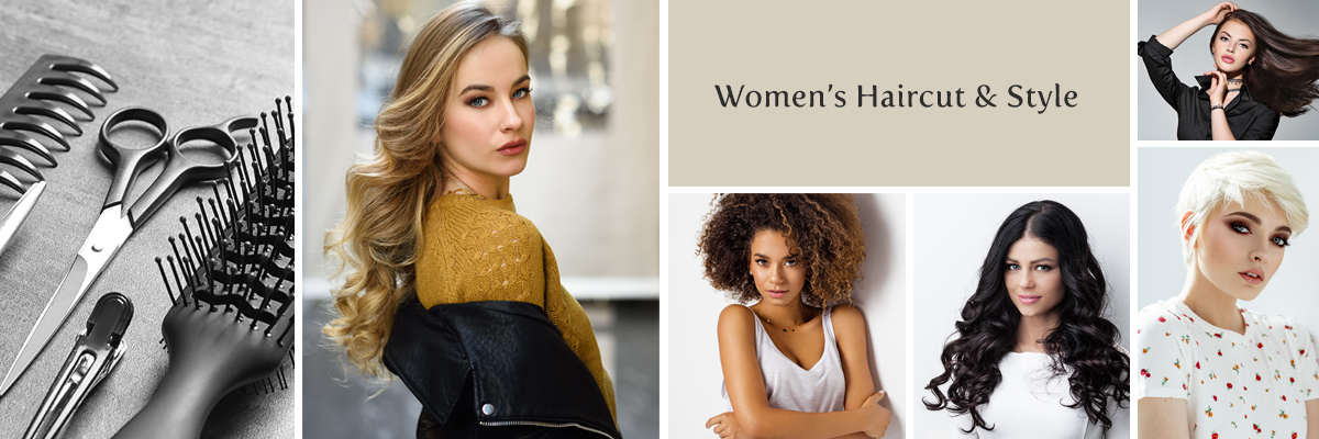 Women's Haircut and Style at the Salon at Lakeside - Desert Shores Community of Summerlin in Las Vegas