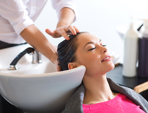 Stress Reducing Head Massage at the Salon at Lakeside Near Downtown Vegas