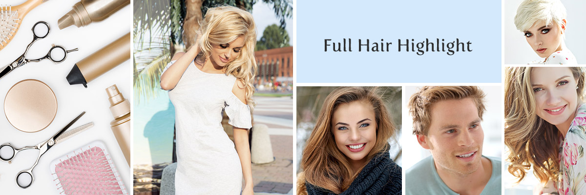 Las Vegas Full Hair Highlight in the Desert Shores Area of Summerlin