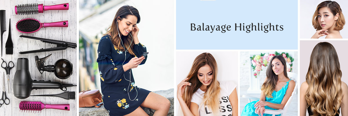 Las Vegas Balayage Hair Highlights in the Desert Shores Area of Summerlin - Salon at Lakeside