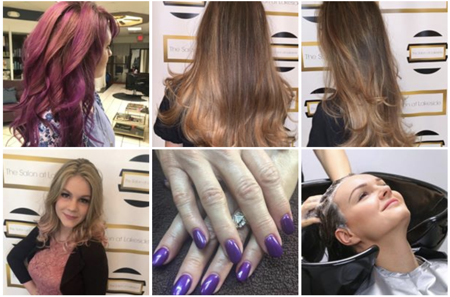 Images of Salon at Lakeside hair styles