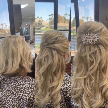 Bridal Hair by Dannielle Catain