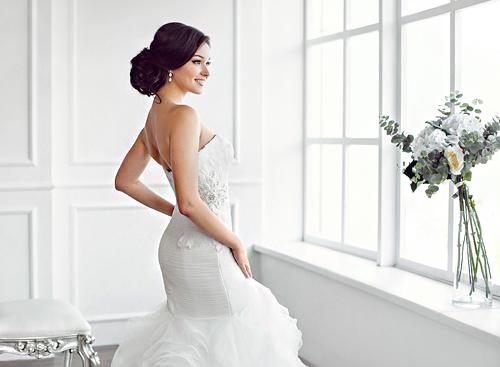Las Vegas Bridal Hair Updo Services - The Salon at Lakeside