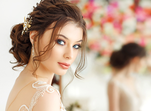 Traditional Bridal Makeup Application Packages for Bride and Wedding Party