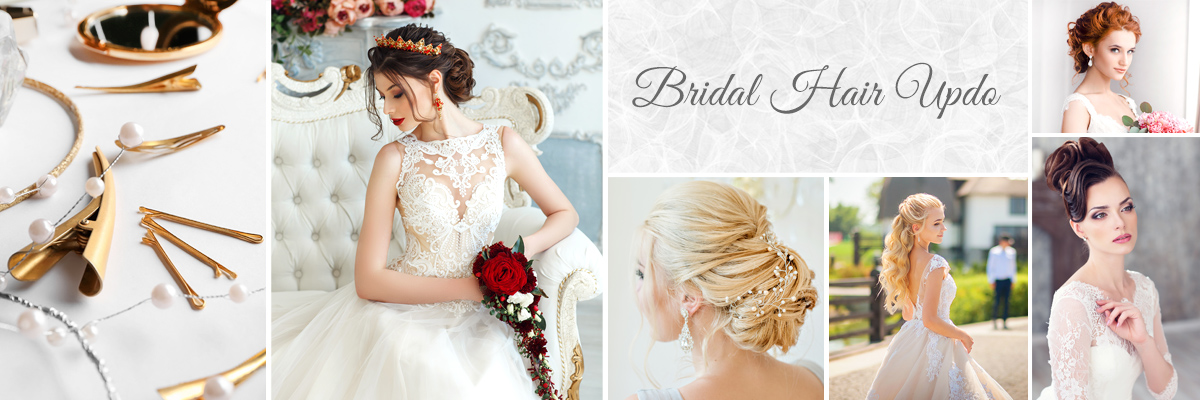 Las Vegas Wedding Salon - Bridal Hair Updo