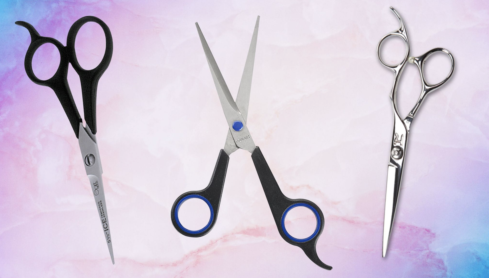 Image of scissors for cutting hair
