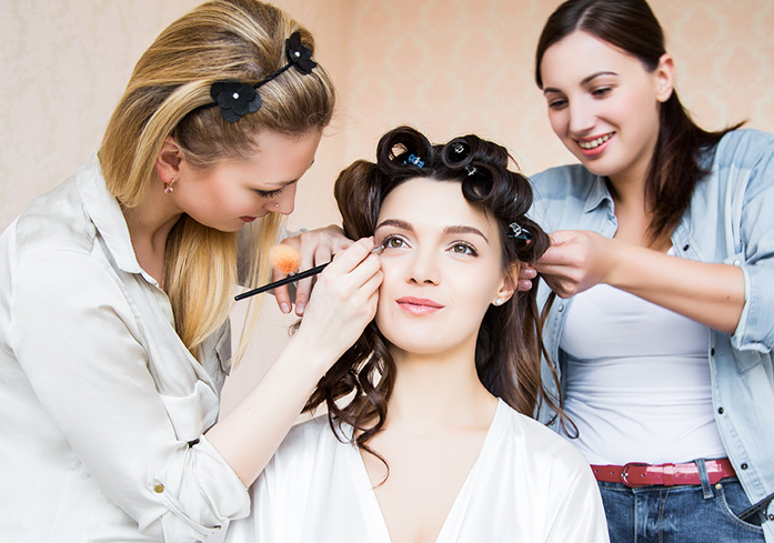 The Best Las Vegas Mobile Bridal Hair and Makeup Packages
