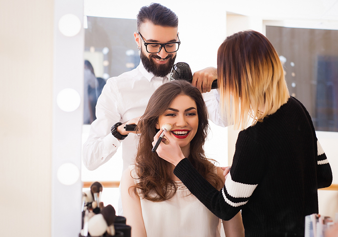 Affordable Las Vegas Trial Bridal Hair and Makeup Packages in the Desert Shores area of Summerlin