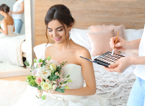 Off-Site Las Vegas Mobile Bridal Hair and Makeup Appointments - The Salon at Lakeside