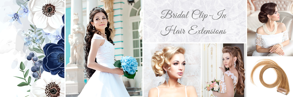 Best Las Vegas Bridal Clip-In Hair Extension Packages for Your Wedding Day