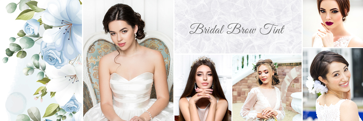 Las Vegas Bridal Brow Tinting Packages for Wedding Day
