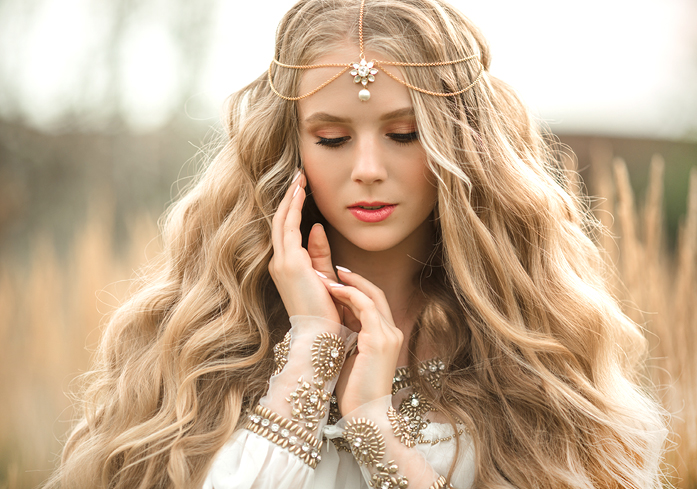 Las Vegas Bridal Fantasy Hair and Makeup Packages in the Desert Shores Area of Summerlin