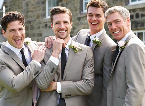 Las Vegas Men's Wedding Day Salon Package - Hairstyle - Cleanup - Facial Hair - Edges