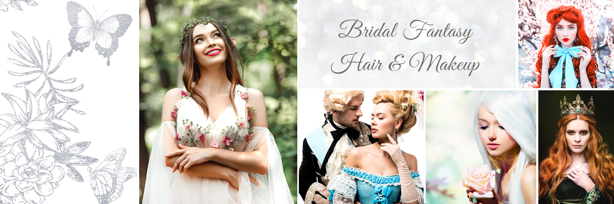 Best Las Vegas Bridal Fantasy Hair and Makeup Packages for Your Wedding Day
