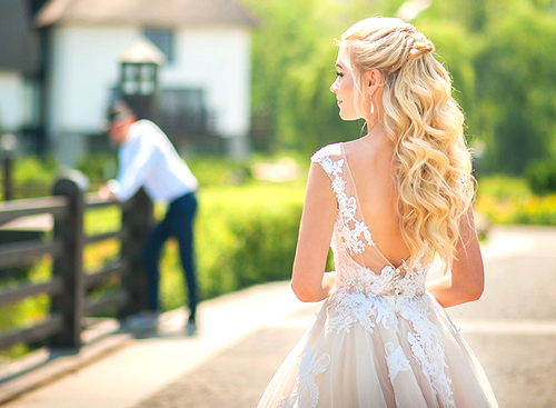 Wedding Day Clip-In Hair Extension Packages at The Salon at Lakeside in Las Vegas