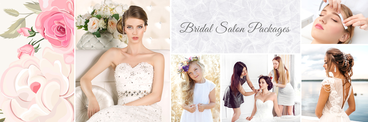 Las Vegas Bridal Salon Packages for Wedding Day Hair and Makeup
