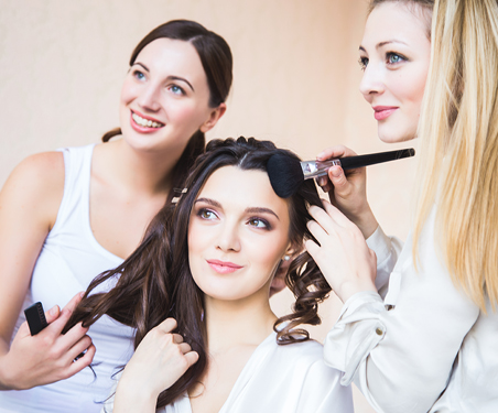 Salon Bridal Hair and Makeup Packages for Las Vegas Weddings