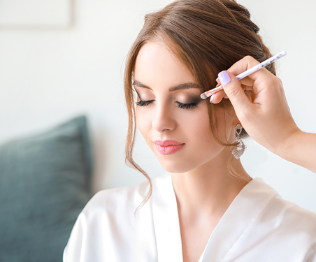 Traditional Bridal Makeup Packages at The Salon at Lakeside
