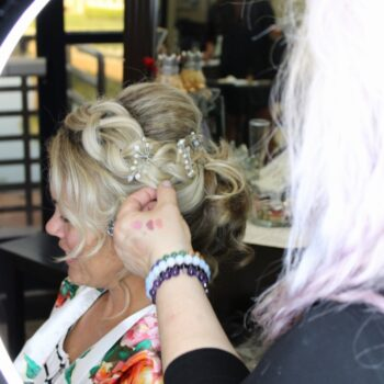 Touch up to Bridal Hair by The Salon at Lakeside